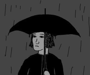 oh no it's rainning...