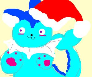 Christmas Vaporeon