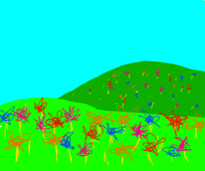The Field of Flowers From Horton Hears A Who?