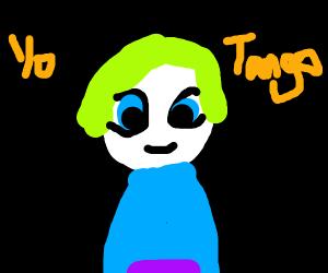"""Little Boy says """"Yo Tango!"""""""