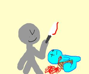 a man stabbing gen 1