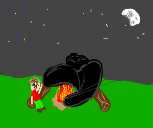 Shadow puts out Campfire