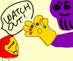 watch out, thanos about to snap!!