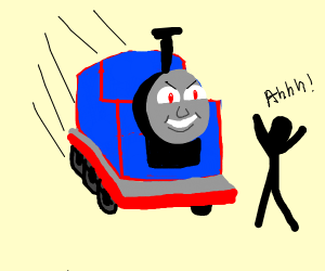 Thomas the Tank Engine is a serial killer