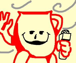Kool-Aid Man Weatherman