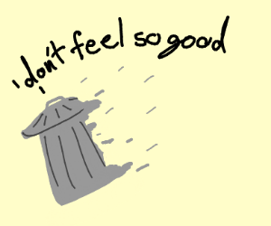 trash can that dosent feel so good