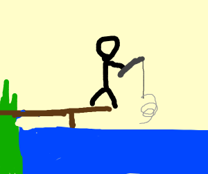 Fishing for a Spring