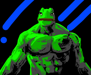 Pepe as Hulk