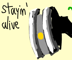 glados is stayin alive