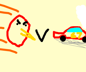 Angry Birds VS Cars