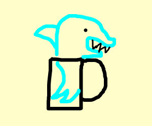 Shark in a Cup
