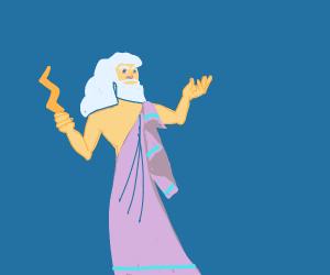 Skinny overlord Zeus