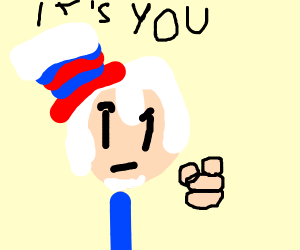 uncle sam says its youuu
