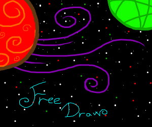 FREE DRAW!!! Make it AWESOME