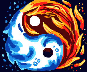 Yin and Yang Fire and Ice