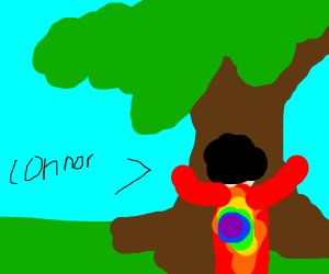 connor the treehugging hippie