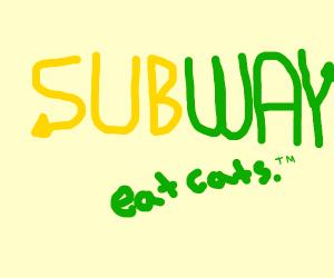 subway: eat cats