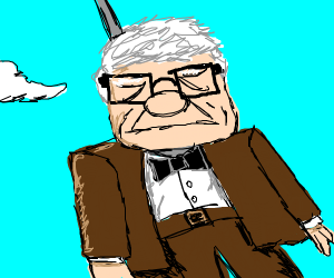 The old man from up