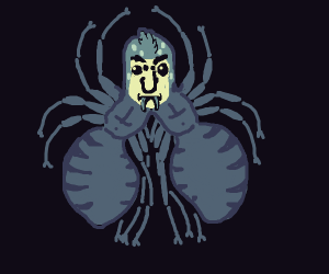 two bodies spider person