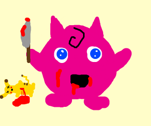 Jigglypuff is out for blood