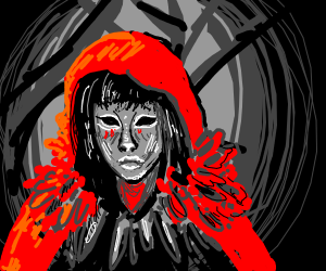 Grimdark Red Riding Hood
