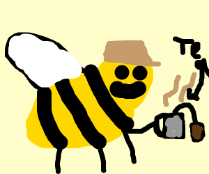 A posh spicy bumble bee.