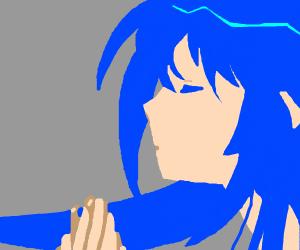 Miku Praying