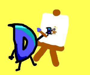 draw-ception d paints a paradox