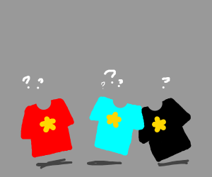 steven universe shirts are confused
