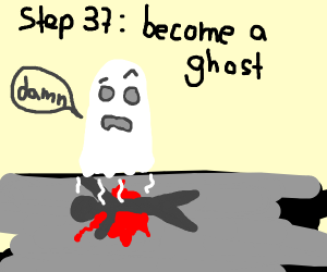 Step 36: Bleed to death