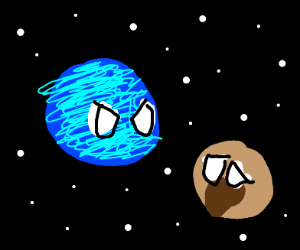 [space] Neptune doesn't like Pluto