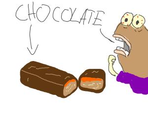 Chocolate on Mars