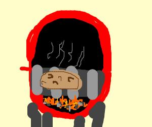 fire-roasted potato