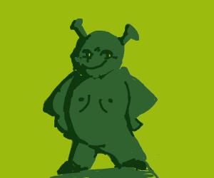 Shrek Statue