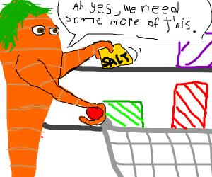 carrots need more salt