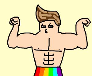 Fabulous gay man