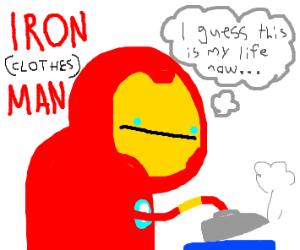 Iron (Clothes) Man