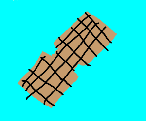 peanut with square pattern