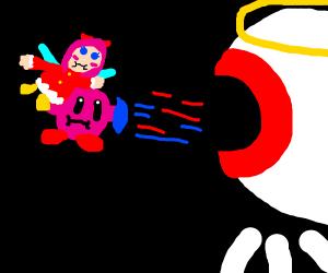 Kirby 64 Final Boss fight