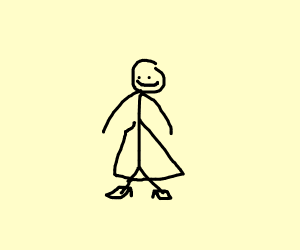 Cinderella stickperson