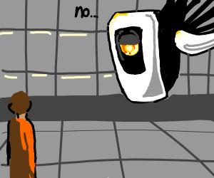 portal boy gets rejected by glados
