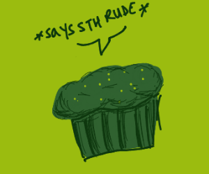 Really rude muffin