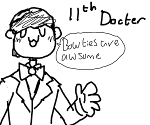 Draw your favorite Doctor in Doctor Who!