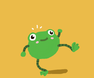 lil frog dude