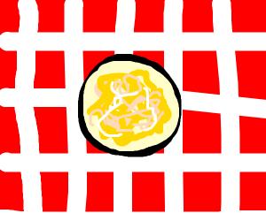 Fettuccini afraido