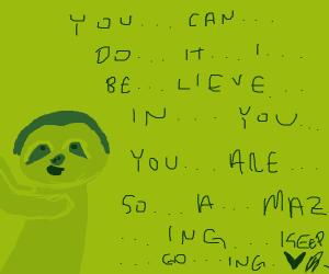 Motivational sloth