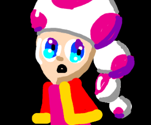 Toadette the anime