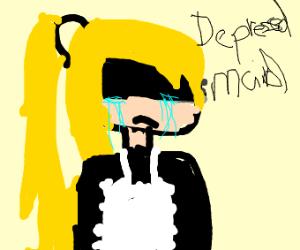 Depressed Maid