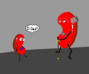 kidney bean meets long lost dad