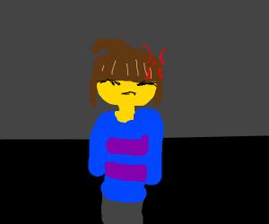 Annoyed Frisk